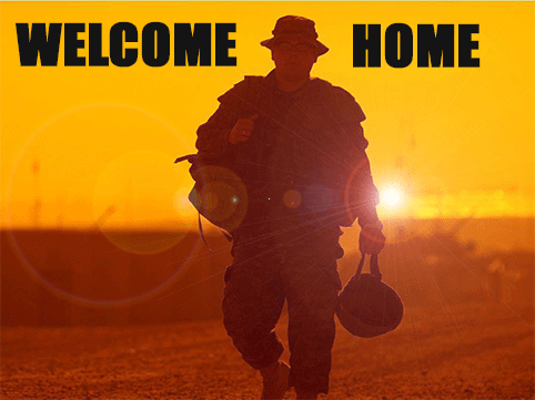 OperationGameOn.org says Welcome Home Troops