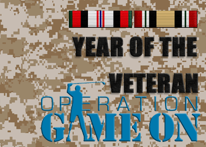 Operation Game On - The Year of the Veteran