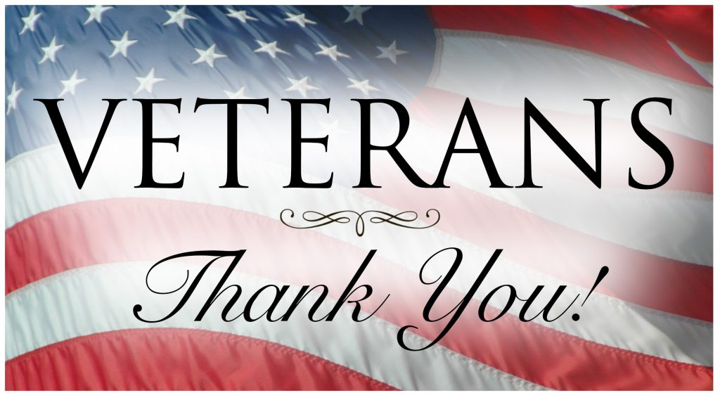 Thank You Veterans