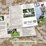 Operation Game On Golf Classic Brochure for August 13, 2012