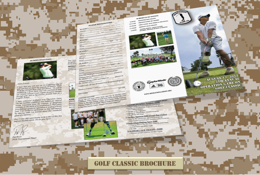 OGO Golf Classic Brochure August 13,2012