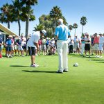 Pat Perez and Jim Flick Clinic